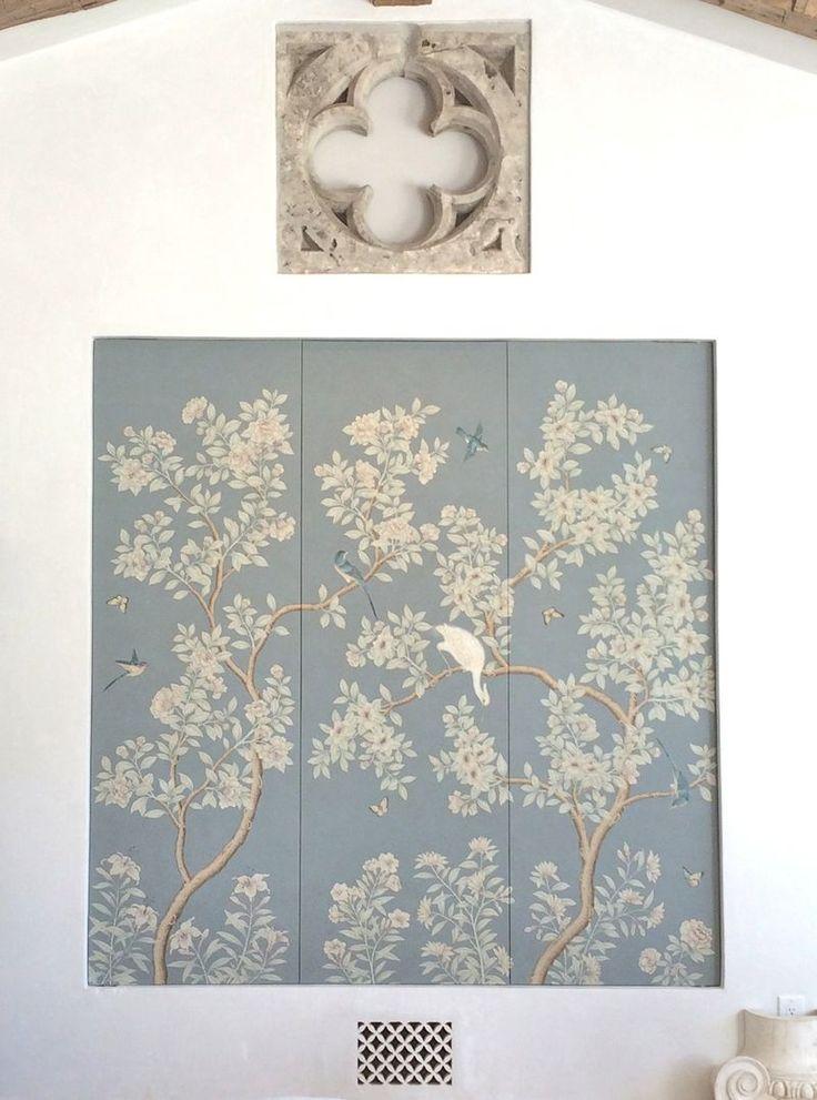 Velvet and Linen Our Gracie Wallpaper #PatinaFarm