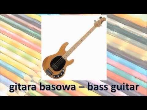 Wykreślanka- instrumenty muzyczne do wydrukowania | Pokoloruj Świat