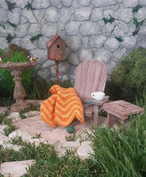 Jardin miniatura. Miniature garden