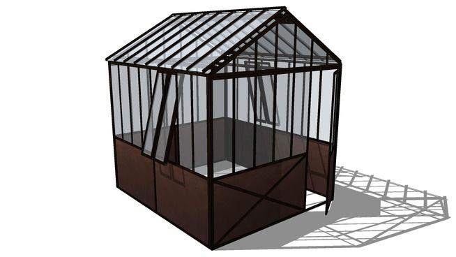 Serre tuileries maisons du monde r f 121547 prix 3490 3d warehouse 3 - Serre maison du monde ...