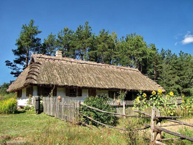 Fotoblog gento5.flog.pl. - Chata z okolic Krynek, Podlasie. ...