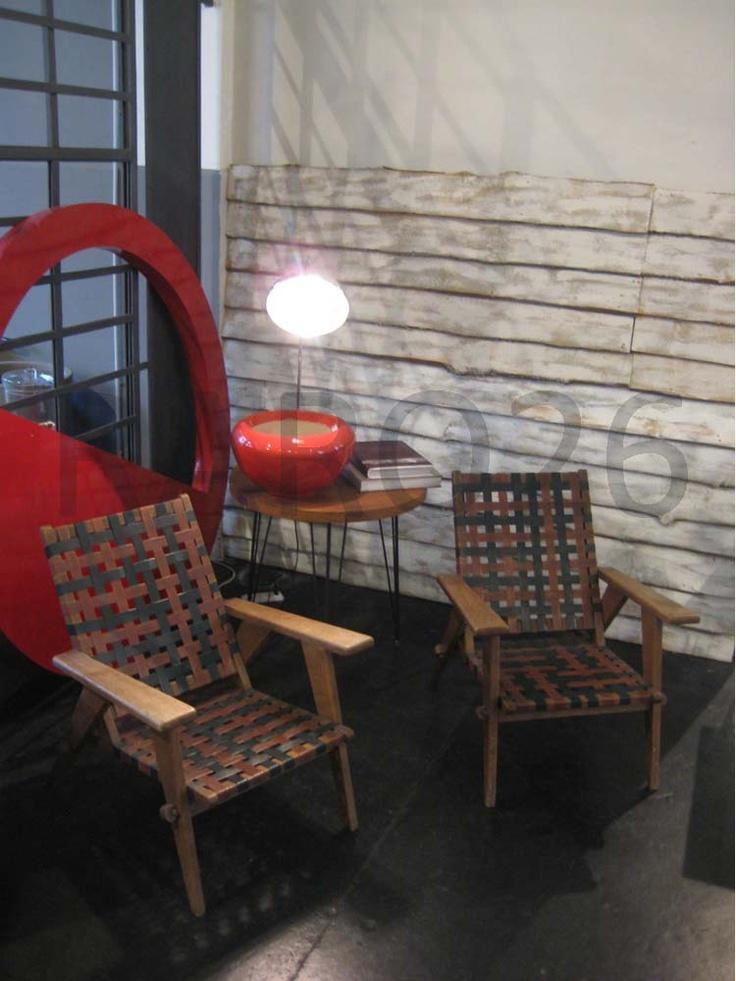 #Poltrone in legno #design #1950
