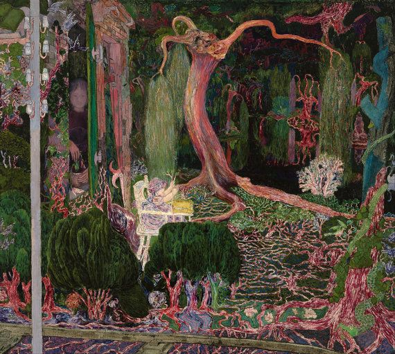 "Jan Toorop : ""The New Generation"" (1892) - Giclee Fine Art Print on Etsy."