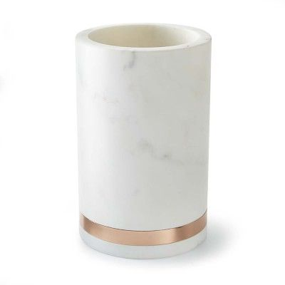 Marble & Copper Wine Chiller #williamssonoma