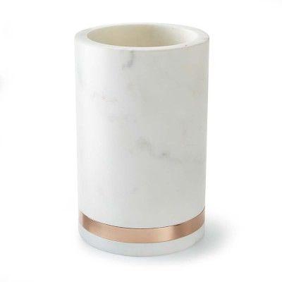 Marble & Copper Wine Chiller #williamssonoma