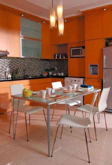 minimalist dinning room