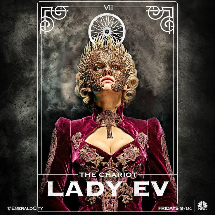 Emerald City - Lady Ev is a mystery
