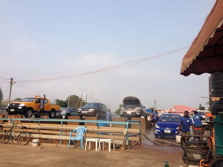 Washing bay.#Tema#Ghana