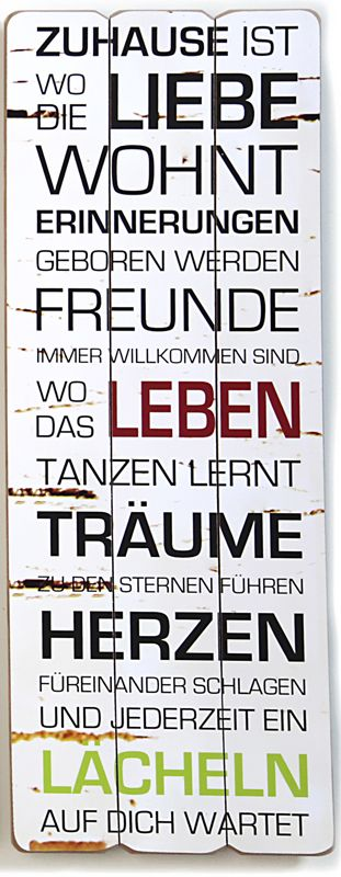 Shabby-Chic-Dekoschild-Wandschild-Schild-Landhaus-Vintage-Holz-80-cm