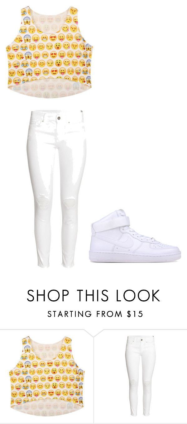 """Emoji"" by renee-9392 on Polyvore featuring H&M and NIKE"