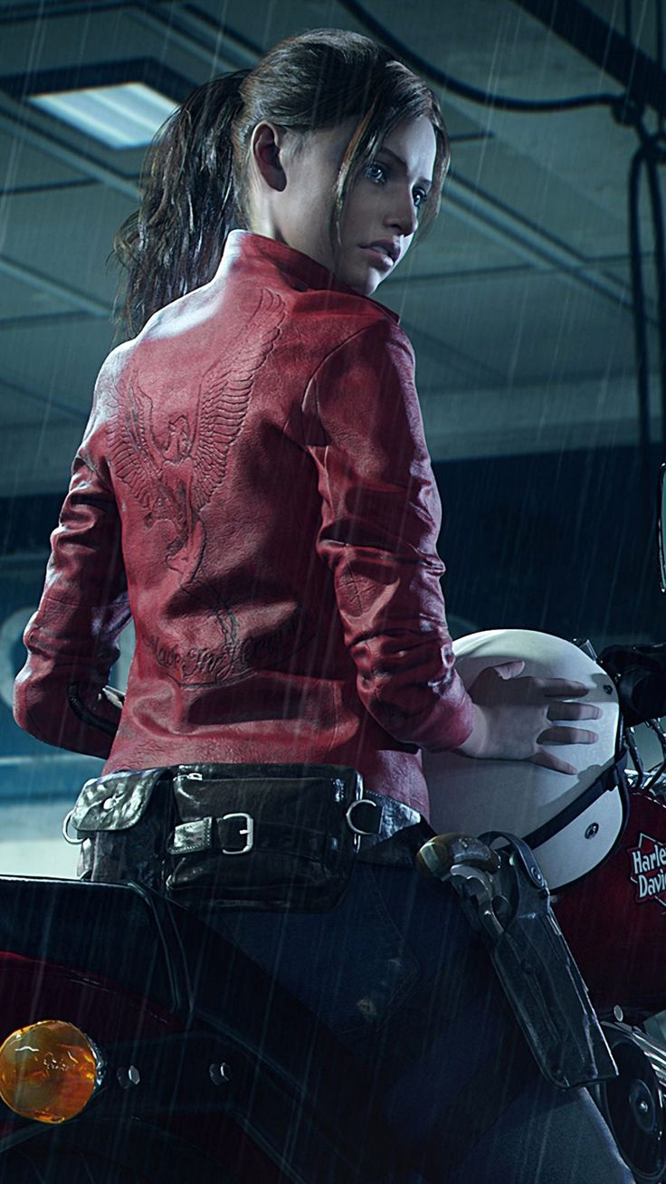 Claire Redfield Resident Evil 2 4K Ultra HD Mobile