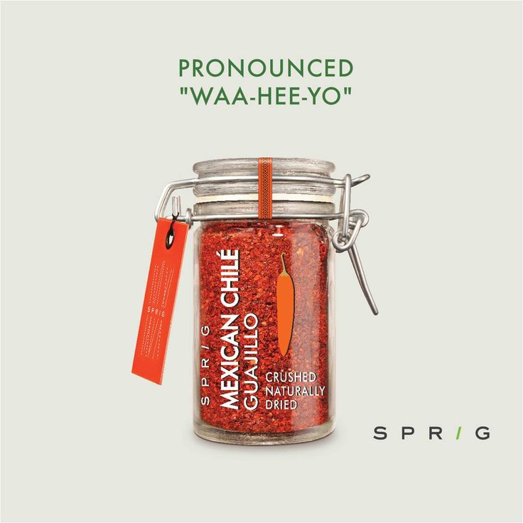 The meanest range of Mexican Chilé peppers known to man. https://goo.gl/V2153d #SprigGourmet #Waa-Hee-Yo #Gourmetingredients #Onlineorder