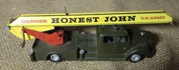 Tekno U.S.Army raketbil , Scania Vabis, tekno nr.870.601.a  Honest John