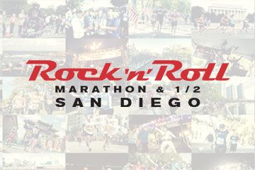 The San Diego Rock 'n' Roll Marathon, Half Marathon & 5K are scenic runs in cool weather, coupled with bands & entertainment along the course. Register now!