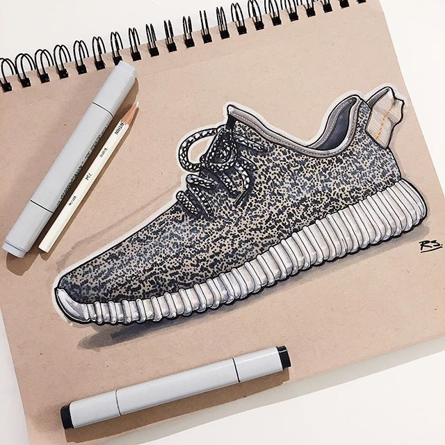 Reid Schlegel - Hallo aus Deutschland. Since Adidas is German and Kanye is American this felt like an appropriate sketch for my first day in Munich. #kanye #adidas #yeezy350 #yeezy #yeezyboost #kanyewest #germany #usa #ID #industrialdesign #productdesign #idsketch #idsketching #sketch #sketching #sketchbook #drawing #design #art #instaart #fashion #fashiondesign #shoe #shoedesign #kicks #kicksonfire #kickstagram #shoeporn #copicfallwide #fallinspiration