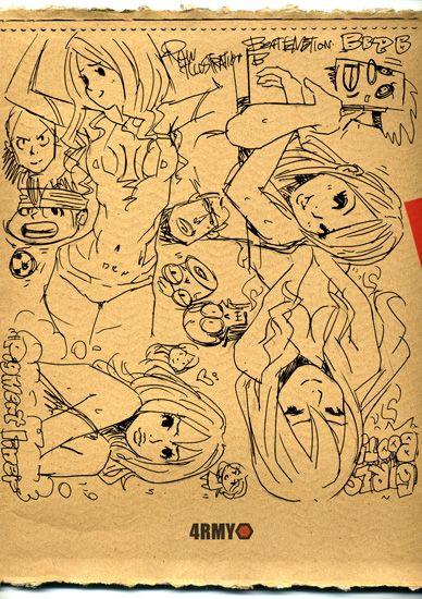 Doodle GIRL etc by KENTOO-JPN