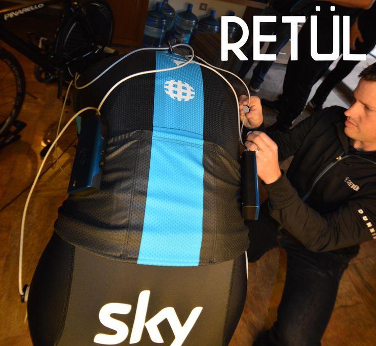 Team Sky Retul fit