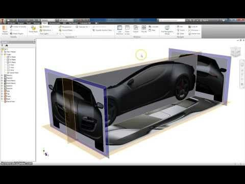 Autodesk Inventor Basic Car modeling Part 1 - YouTube