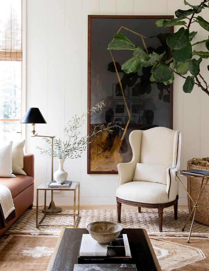 .SUCH AN AMAZING & STUNNING ROOM, WHICH IS SO WARM & WELCOMING!! - LOVE THE GLORIOUS WHITE CHAIR & FABULOUS PLANTS!! - IN FACT...WHAT'S NOT TO LIKE ABOUT THIS EXQUISITE ROOM