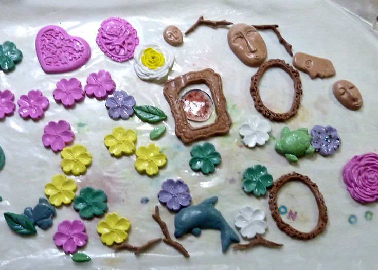 how to make a paper weight with clay
