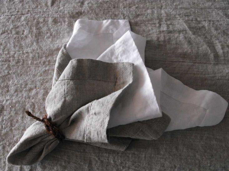 Rough Linen Orkney Napkins | Remodelista