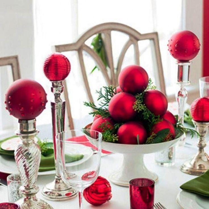 Ideas para decorar con esferas de navidad navidad for Decoracion navidena artesanal