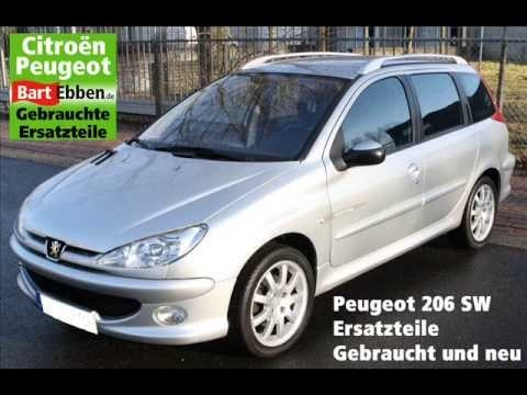 gebrauchte ersatzteile peugeot 206 preiswert mit garantie bei bart ebben alle g ngigen. Black Bedroom Furniture Sets. Home Design Ideas