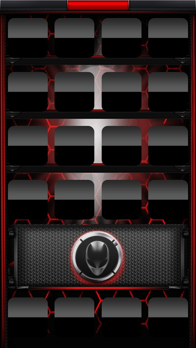Alienware red Wallpaper iPhone 5 Pinterest Red and