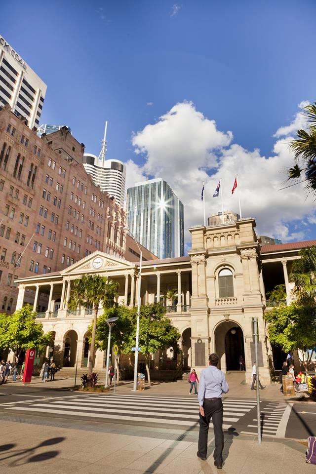 General Post Office, Elizabeth Street #Brisbane #brisbanecity