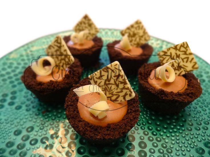 Mini tartaletas de chocolate