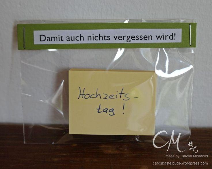 Caros Bastelbude: Ehe-Notfall-Koffer