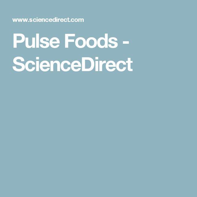 Pulse Foods -  ScienceDirect