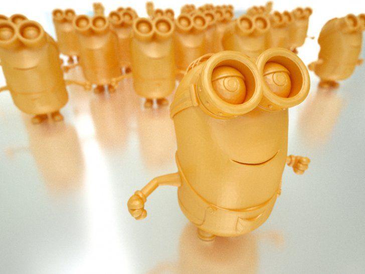 Minion http://3dprintsoftheworld.com/object/minion #3dprinting