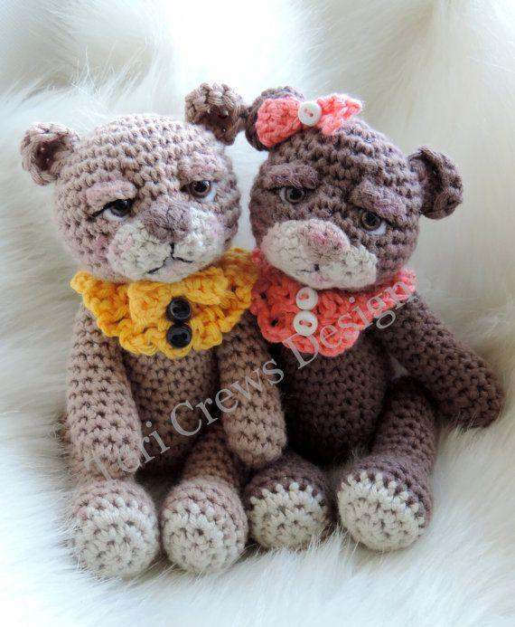 Mini Bear Crochet Pattern by Teri Crews
