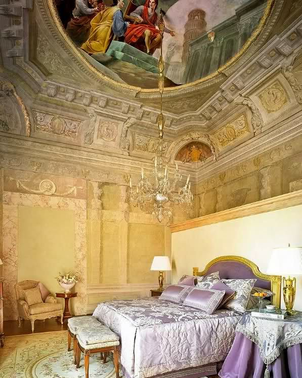 Renaissance palazzo restored in Florence, Italy. Florence Hotel Interior Designs