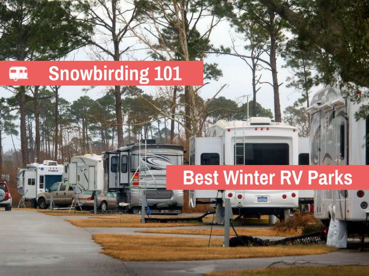 Head down south this winter and enjoy camping in the
