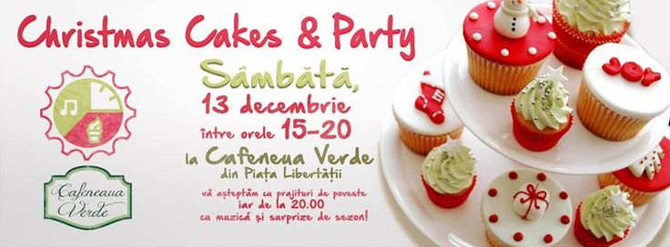 Poster made for a Christmas cakes party held in Timisoara. #ADwiser
