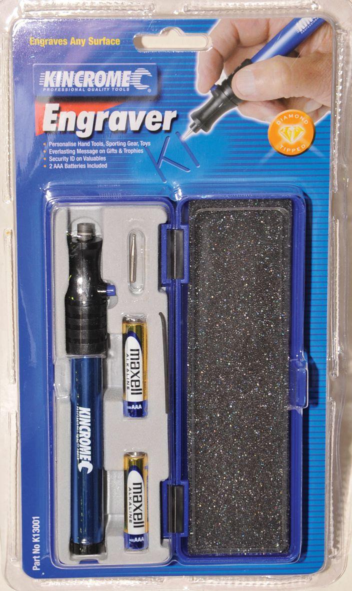 Engraver kincrome pen engraving tool k13001 bunnings for Gardening tools bunnings