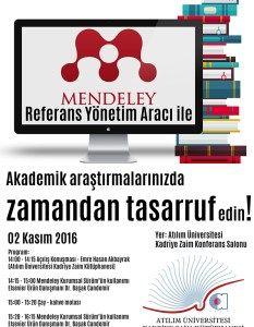 Referans Yönetim Aracı: Mendeley Kurumsal Sürüm Eğitimi