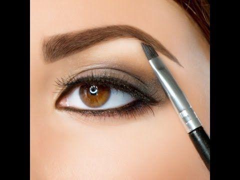 6 ways to get perfect brows/Augenbrauen schminken TUTORIAL - YouTube