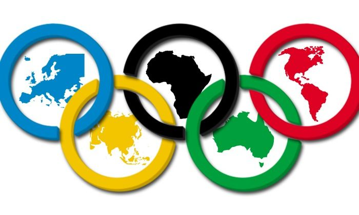 Explore continents and the history behind Olympic Games symbols. Free Printable.
