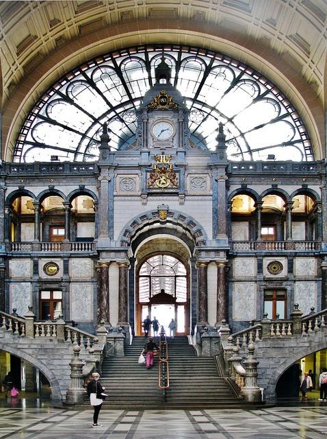 Central Station @ Antwerp #flanders