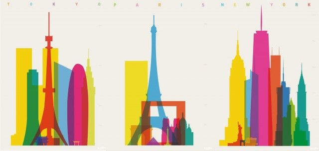 Shapes of Cities Illustrations – Fubiz™