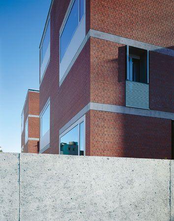 Burkard Meyer, Martinsbergstrasse, french window
