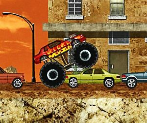 Racing Games >> Monster Truck Demolisher - :: Play Action Games :: | Play Action games |