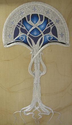 Tree of Gondor by Katie Pindir (a RSN graduate & costume designer residing in London, England)