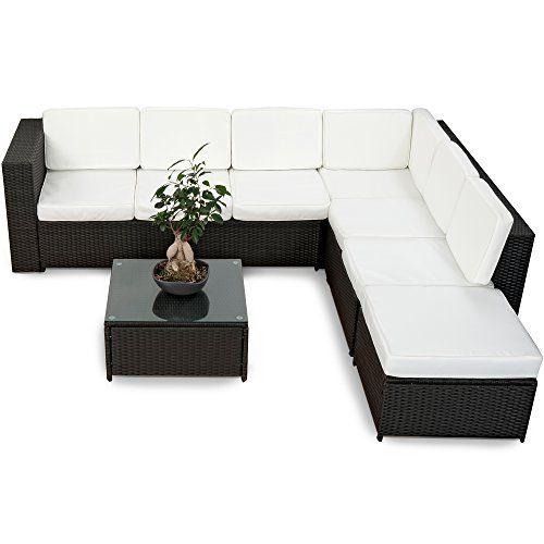 die besten 25+ rattan lounge set günstig ideen auf pinterest, Gartenmöbel