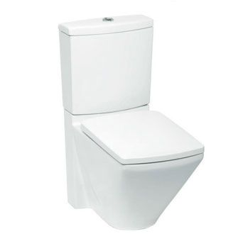 Escale® Toilet Suite Back-To-Wall  Features:    Dual Flush (4.5/3L)  Back-up shut-off valve located in cistern  Bottom left inlet (standard)  Rear left inlet (optional: additional hose and plug required)  P-trap set out: 185mm  S-trap set out (with vario pan connector): 90mm-220mm  Concealed trapway  Open rim