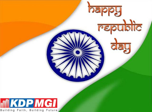 KDP MGI Group wishes you a very HAAPY REPUBLIC DAY