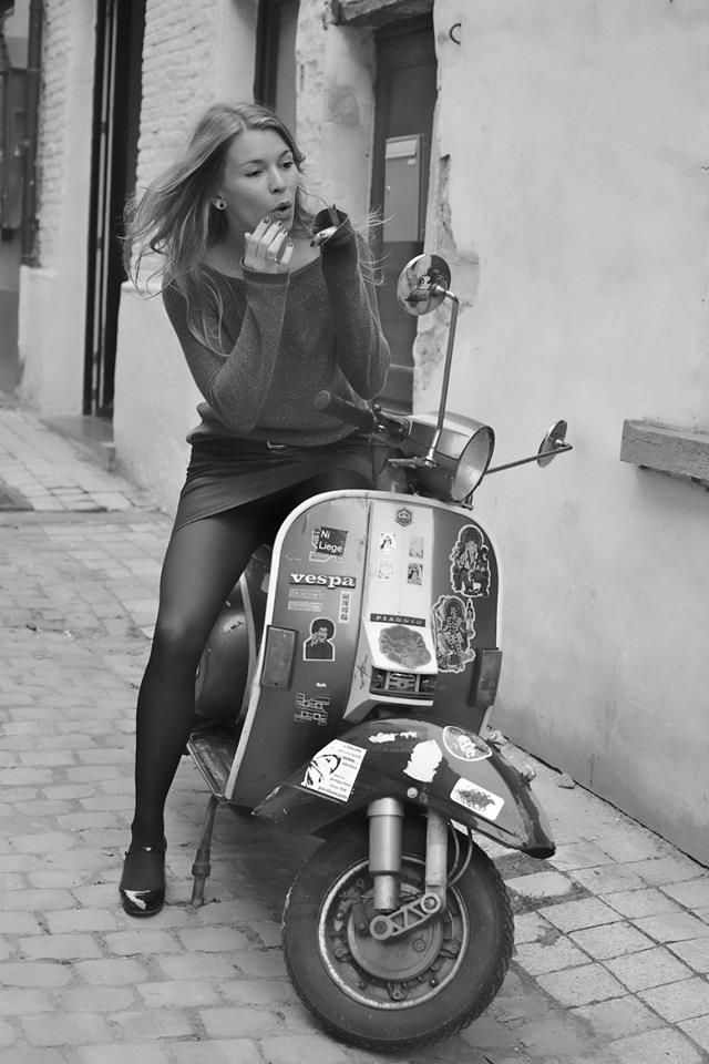 iconic image of vespa from Scooter Specialist NI http://www.scooterspecialistni.co.uk